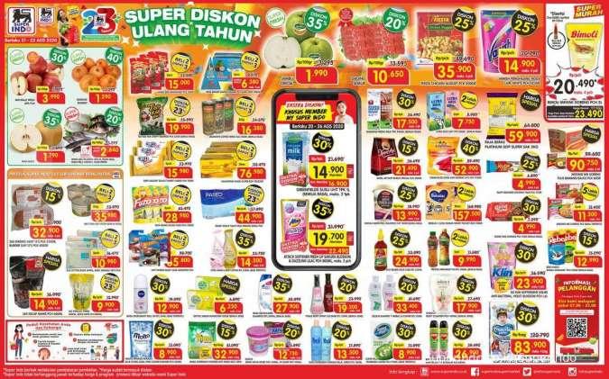 Promo Superindo Hari Ini 23 Agustus 2020 Simak Daftar Katalog Promo Sembako Berikut Ini Tribun Solo