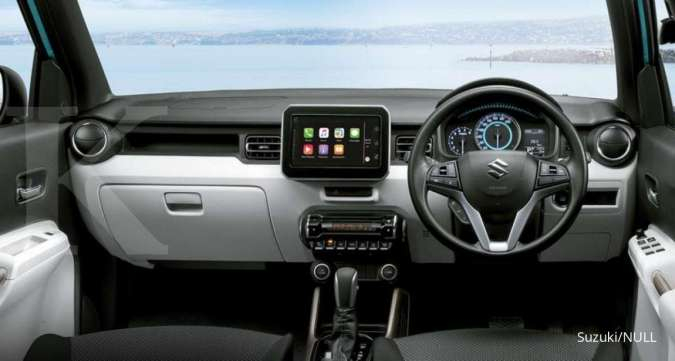 Harga mobil bekas Suzuki Ignis per September 2020 (Sisi Interior)