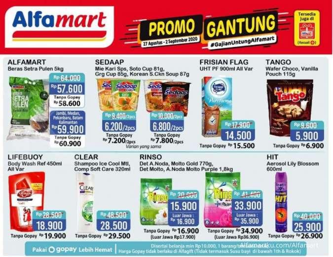 Promo Alfamart Gantung 27 Agustus - 2 September 2020