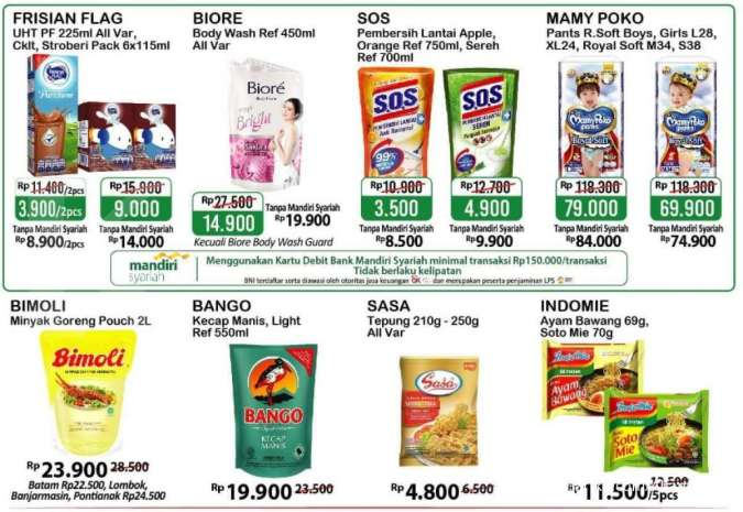 Promo <a href='https://kupang.tribunnews.com/tag/alfamart' title='Alfamart'>Alfamart</a> Gantung 27 Agustus - 2 September 2020