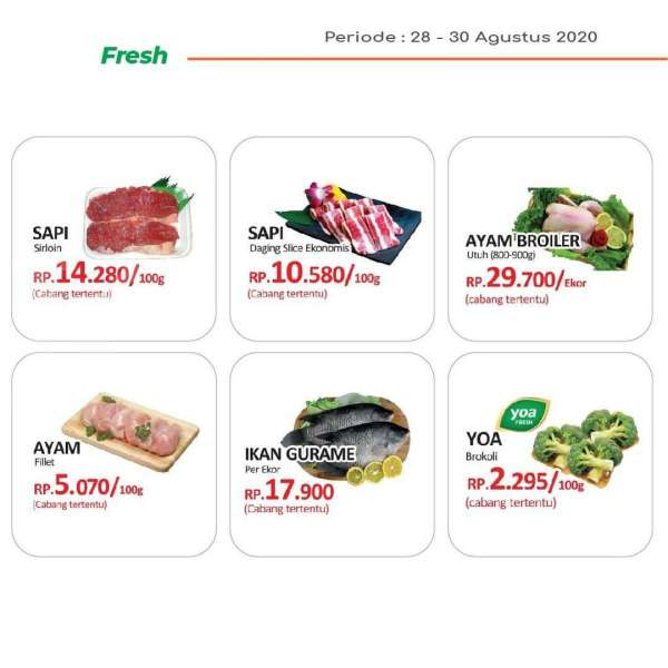 Promo JSM Yogya Supermarket 28 – 30 Agustus 2020