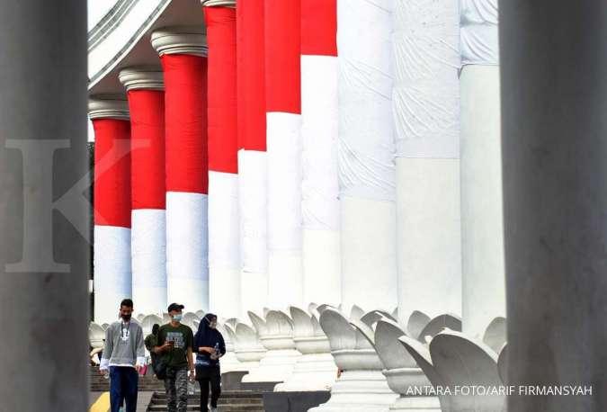 Awal 2021, zona merah corona di Indonesia 2021 turun, Jawa Tengah masih terbanyak