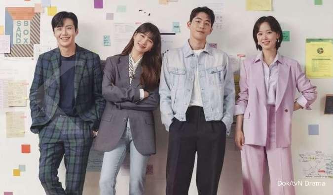 Drama Korea terbaru Start Up, Suzy hingga Nam Joo Hyuk tersenyum di poster pertama