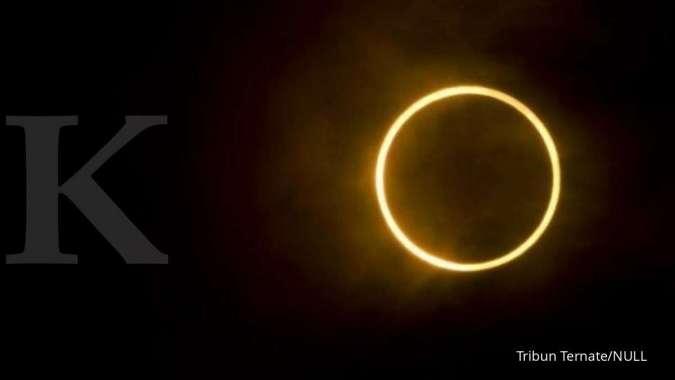 Ada fenomena Halo Matahari di Surabaya, apa yang terjadi?