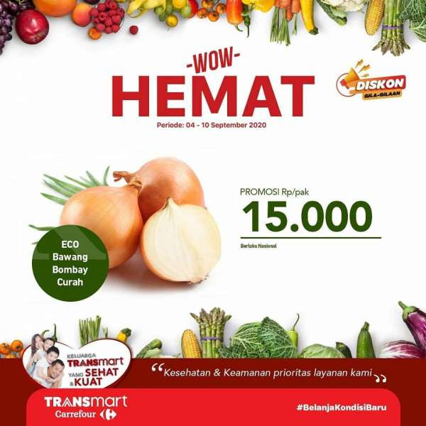 Promo Transmart Carrefour 4-10 September 2020