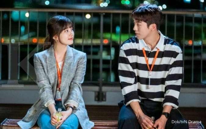 Drama Korea terbaru Start-Up, tatapan mata Suzy dan Nam Joo Hyuk di foto adegan awal