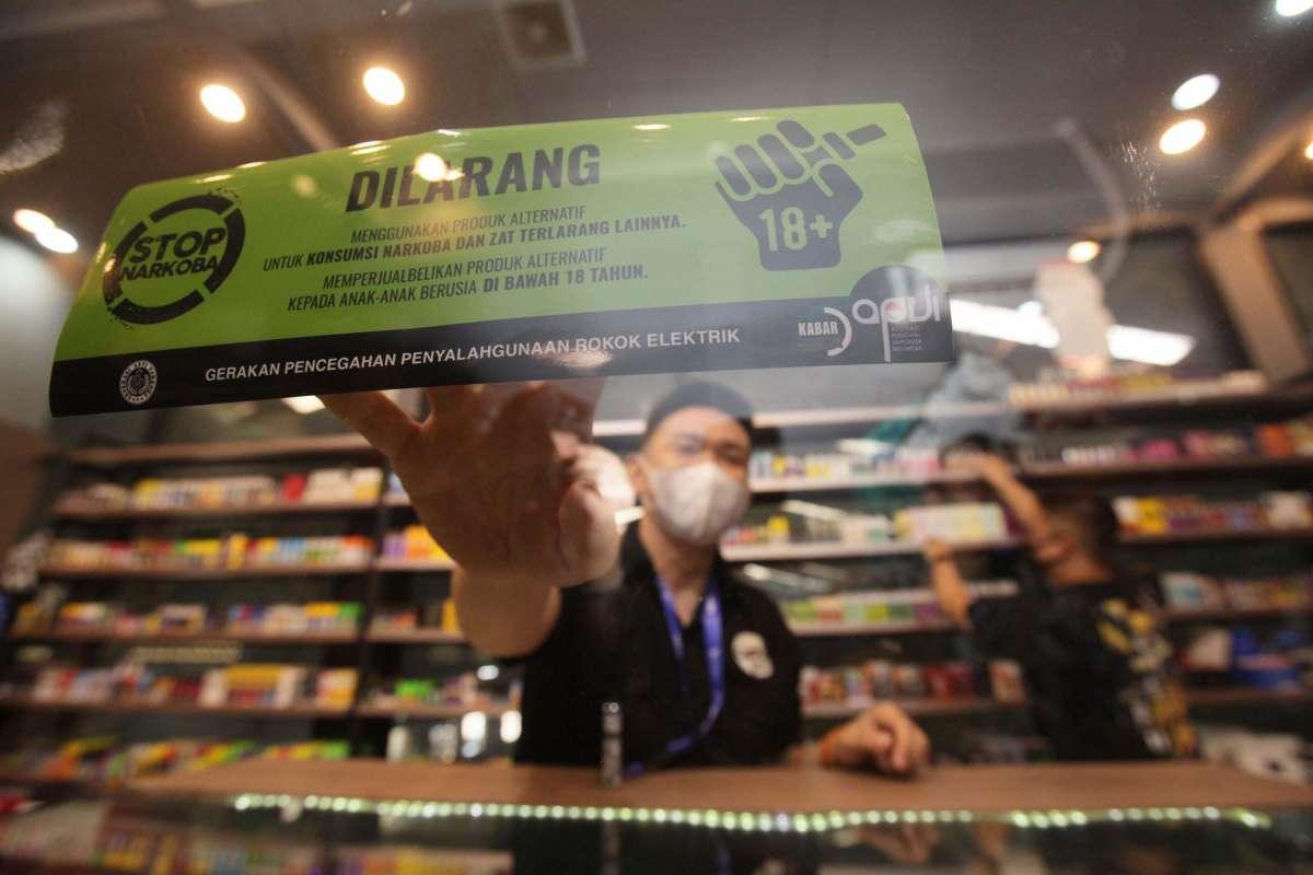 Kampanye pencegahan penyalahgunaan rokok elektrik