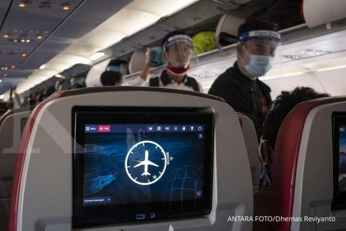 Penumpang pesawat tak memerlukan surat izin keluar masuk (SIKM) saat penerapan PSBB Jakarta.