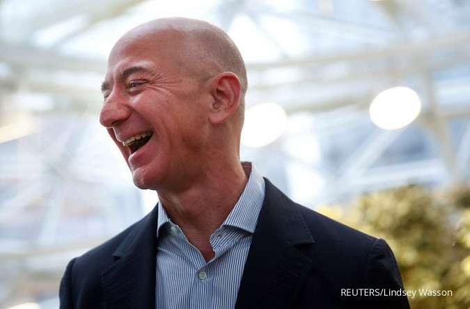 Harta capai miliaran Rupiah, ini yang dilakukan miliarder dunia dengan uang mereka. Foto: Jeff Bezos. REUTERS/Lindsey Wasson