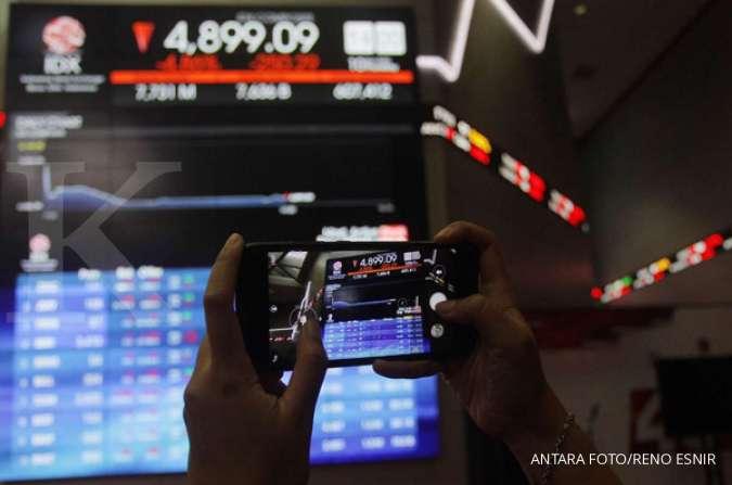 Asing net sell Rp 1,7 triliun, saham-saham ini banyak diobral di sesi I, Jumat (11/9) - Investasi Kontan
