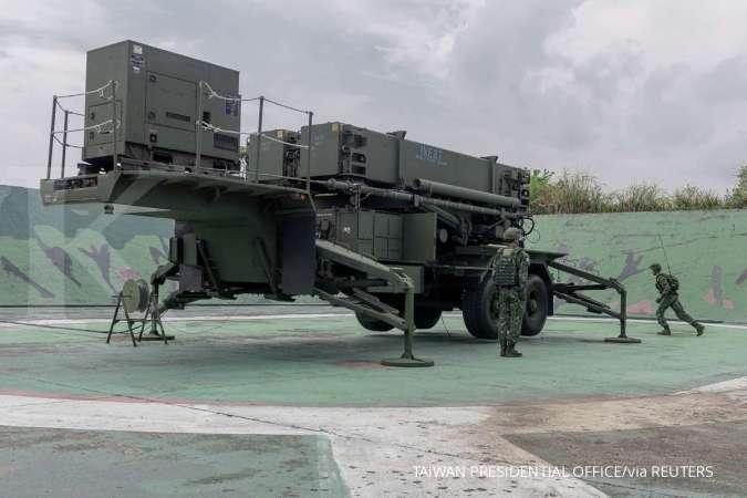 Tegang, Taiwan siagakan sistem pertahanan udara sa
