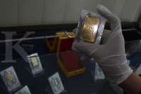 Harga emas Antam hari ini turun Rp 3.000 jadi Rp 1.006.000 per gram, Sabtu (26/9)