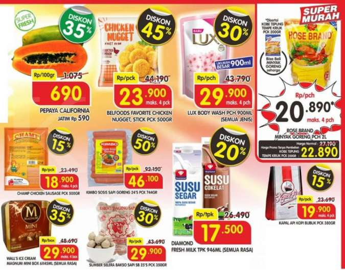 Promo Superindo weekday 14-17 September 2020