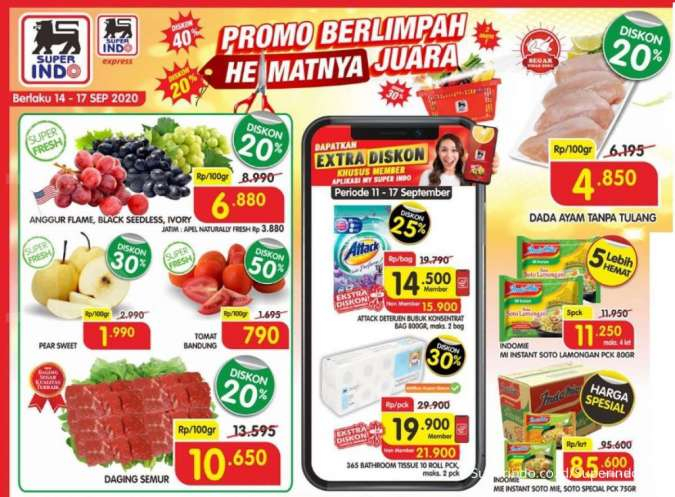 Promo Koran Superindo weekday 16 September 2020