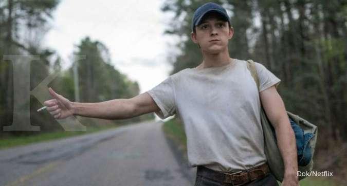 Alasan sutradara memilih Tom Holland bintangi film The Devil All The Time di Netflix.