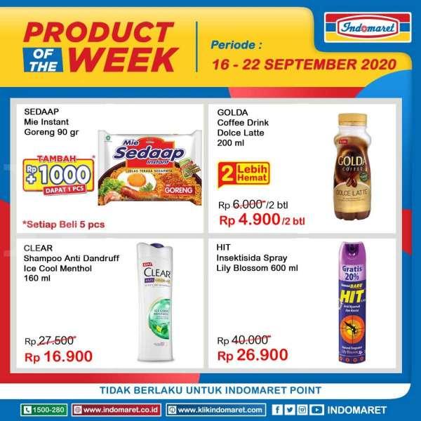 Promo Indomaret Product of The Week 16-22 September 2020