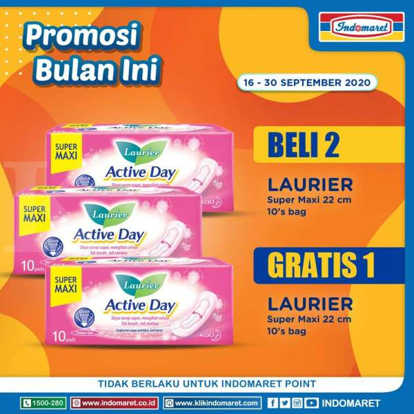 Promo Indomaret Bulan Ini 16-30 September 2020