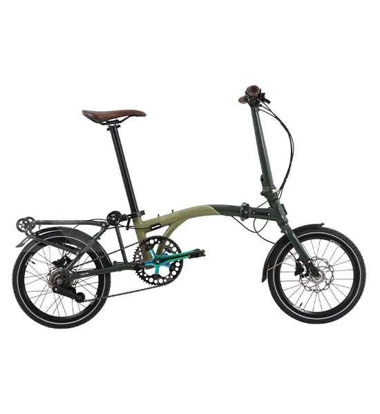 Ringkas dan handal, harga sepeda lipat United Trifold 5D bikin kantong kering