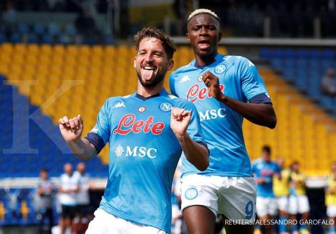 jelang Final Piala Super Italia antara Juventus vs Napoli