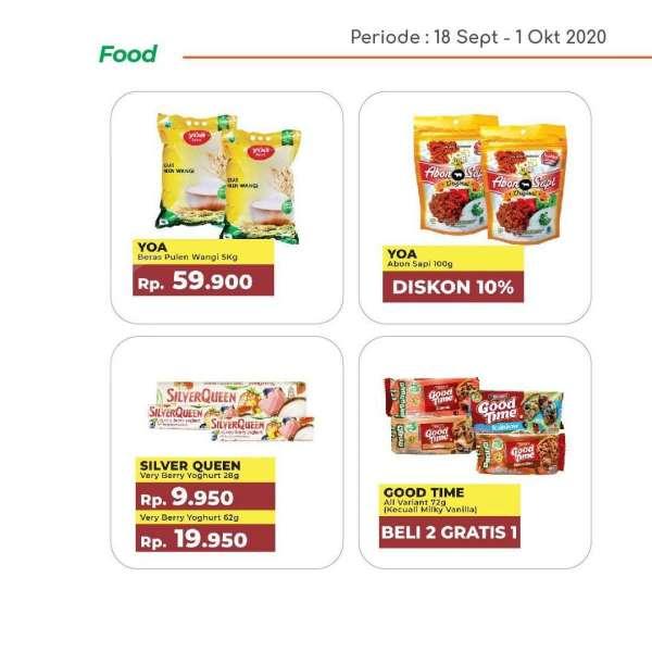 Katalog promo Yogya Supermarket hari ini 29 September 2020, diskon hari kerja!