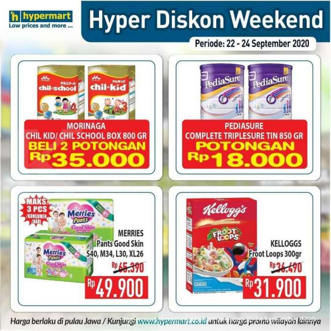 Promo Hypermart weekday 22-24 September 2020