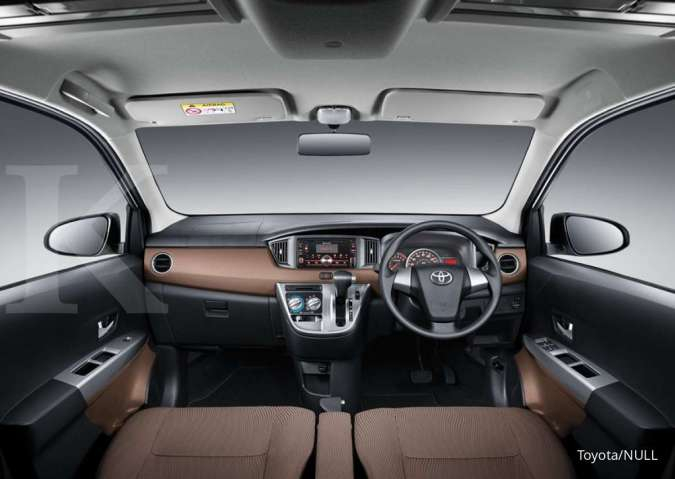 Harga mobil bekas Toyota Calya (Interior)