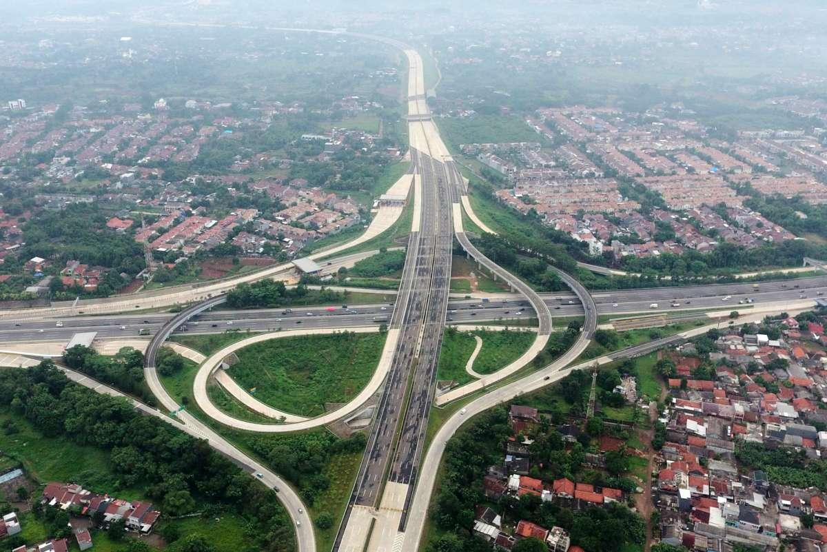 Jalan Tol Cimanggis-Cibitung seksi 1A siap beroperasi