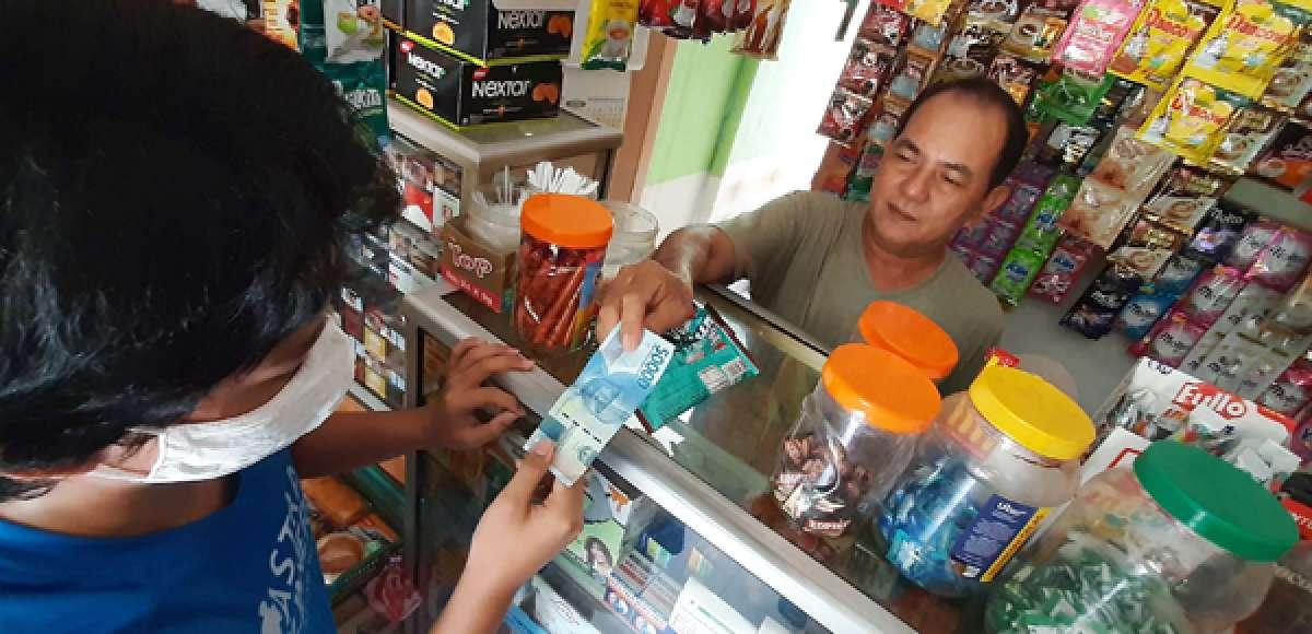 Peredaran uang kartal mengalami penurunan