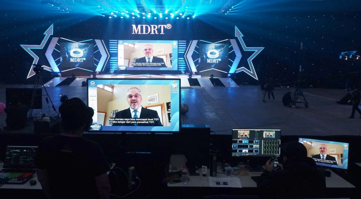 Seminar virtual MDRT Day Indonesia 2020