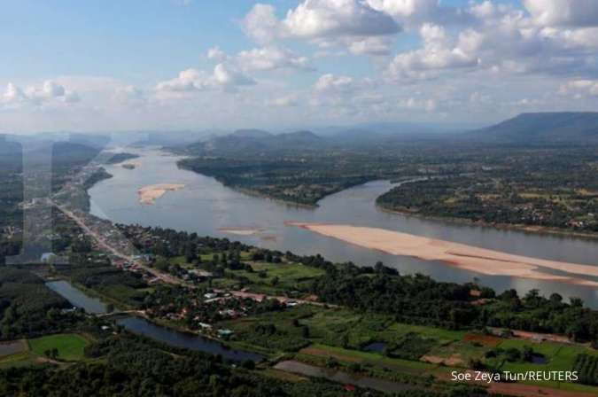 Sungai Mekong jadi titik operasi angkatan laut Laos