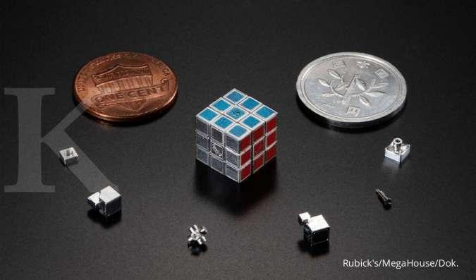 ILUSTRASI: Rubik paling kecil di dunia buatan MegaHouse