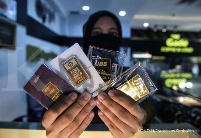 Rincian Harga Emas Hari Ini Logam Mulia Antam Di Pegadaian Rabu 7 Oktober 2020