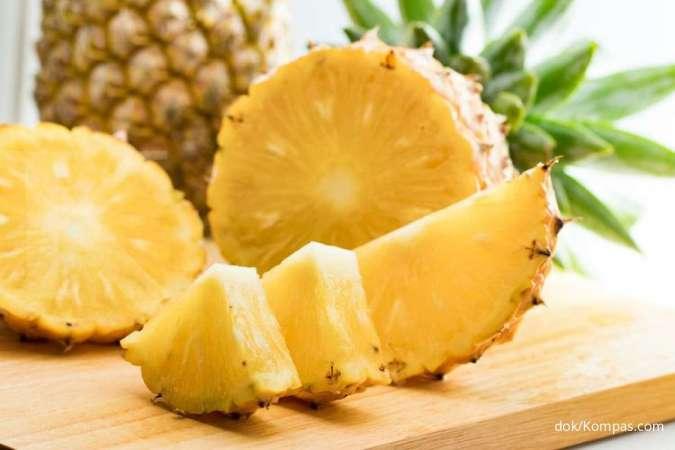 7 Manfaat buah nanas untuk kesehatan tubuh