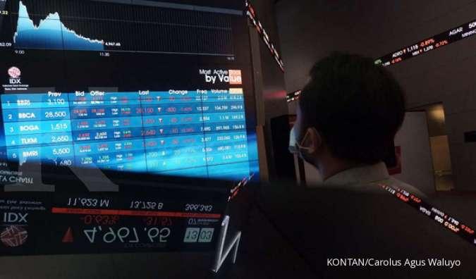 Investor berpotensi merugi jika saham yang dimilikinya dihapus dari pencatatan Bursa Efek Indonesia (BEI)./pho KONTAN/Carolus Agus Waluyo/07/10/2020.