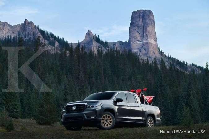 Trailsport diprediksi menjadi trim tangguh mobil Honda Ridgeline