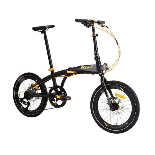 Maskulin, harga sepeda lipat Police MIlan murahnya bukan main