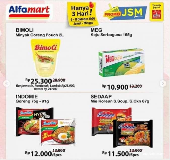 Promo Jsm Alfamart 9 11 Oktober 2020 Diskonan Akhir Pekan