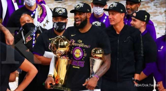 LeBron James dan pemain Los Angeles (LA Lakers)