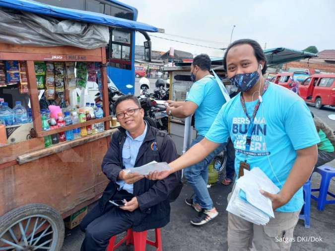 Cegah penyebaran Covid-19, Satgas BUMN DKI Jakarta sebar 45.000 masker