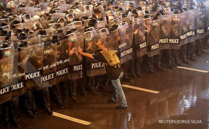 Unjuk rasa di Bangkok