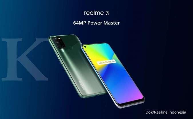 Dibekali RAM 8GB, kamera utama 64MP, hingga refresh rate layar 90Hz, harga HP Realme 7i hanya Rp 3 jutaan.