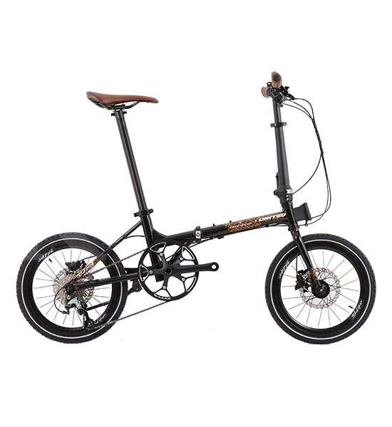 Sepeda lipat United Black Horse X Parang Kencana