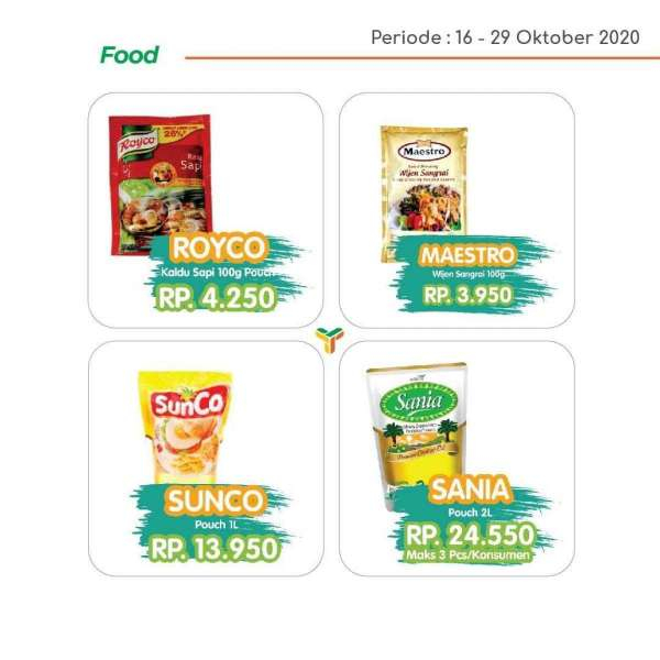 Promo Yogya Supermarket 16-29 Oktober 2020