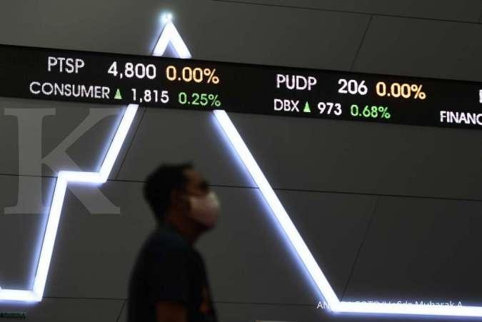 Intip saham-saham yang paling banyak diburu asing saat IHSG melesat Senin (23/11)