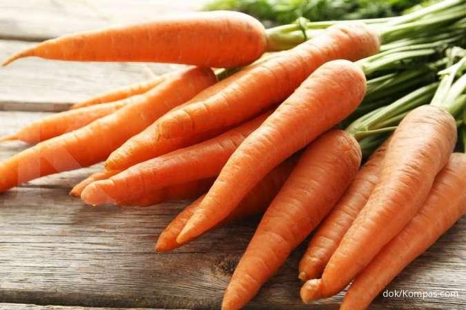 Wortel adalah salah satu makanan yang mengandung vitamin K.