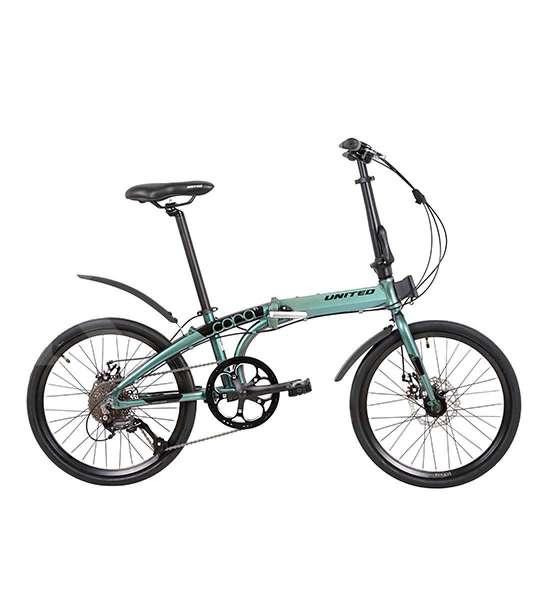 Macho, harga sepeda lipat United Cora 9S bikin kantong sumringah