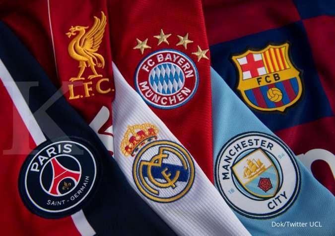 Jadwal Liga Champions malam hari ini