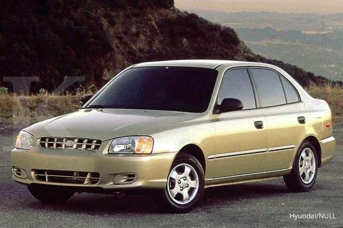 Cari harga mobil bekas murah, ada Hyundai Accent termurah Rp 25 juta