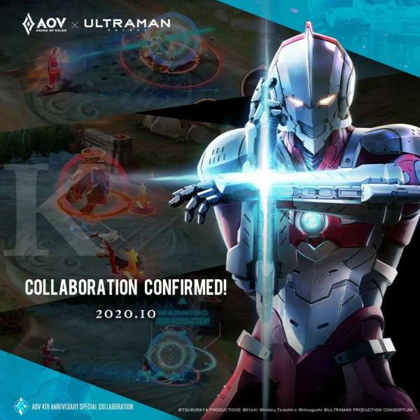 AoV X Ultraman; Credit: Garena Arena of Valor Indonesia