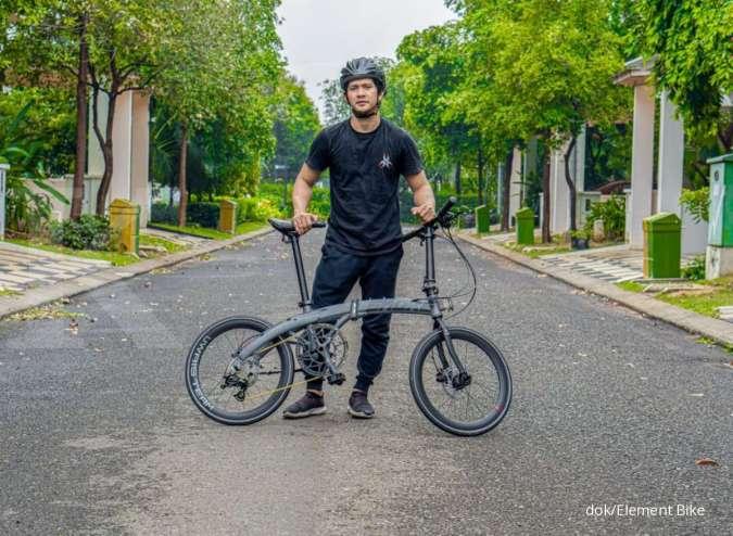Sepeda lipat Camp Snoke 451 X Iko Uwais sudah beredar di pasaran.